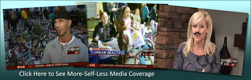 Click here to see More-Self-Less media coverage